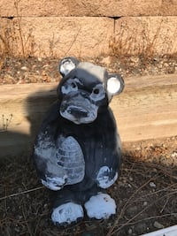Black and white honey bear for garden Mission Viejo, 92691