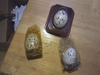 3 handcarved eggs Waldwick, 07463