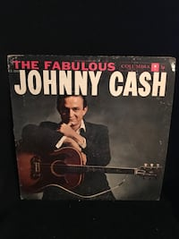 The fabulous johnny cash vinyl album Frankfort, 60423