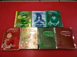 Naruto Anime DVD sets bundle