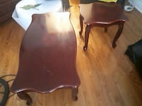 2 end tables and 1 coffee table  Toronto, M6M 3L6