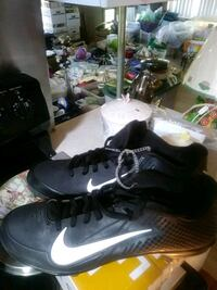 """Nike""""zoom"""" Cleats shoes new size 8 mens Pearl City, 96782"""