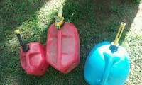 two red and blue plastic containers Springfield