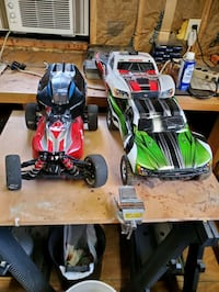 RC Cars. Both w/ spare bodies and boxes of accesso Wichita, 67217