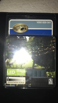 Led solar string lights 24foot never used Cleveland, 37311