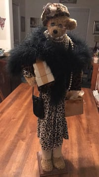 women's black and gray leopard print dress Gainesville, 20155