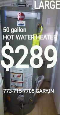 773-715-77O.FIVE GARY,IN hot water heater hotwater Chicago, 60649