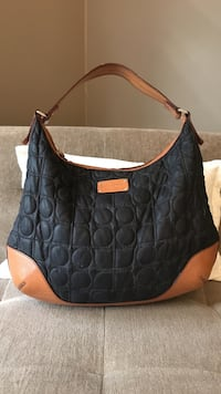 Navy and tan leather Kate Spade purse West University Place, 77005