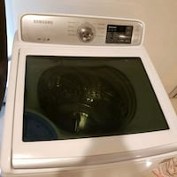 white Samsung front-load clothes washer Elgin, 78621