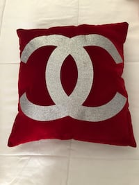 CC Red Velour Pillows Upland