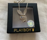 Authentic playboy necklace  Calgary, T2X 0G1
