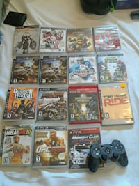 Sony PS3 games and remote  Oshawa, L1K 1R3