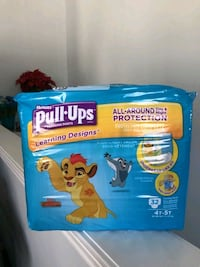 Brand new in package Huggies Pull-Ups