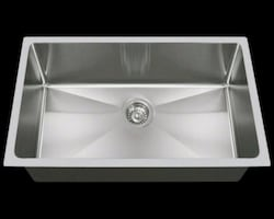 Kitchen under counter single  compartment sink