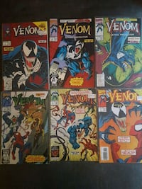 Venom comic book series #1-6 Langley City, V3A 7Z2