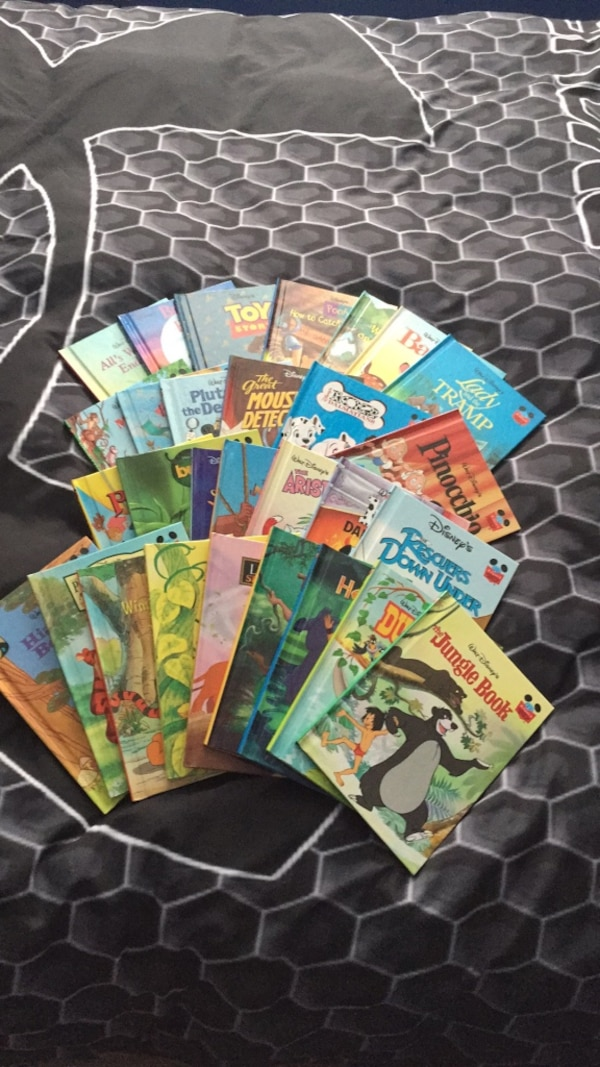 Disney collection of books 10+ condition