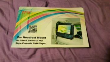 Car tv head mounts for DVD player