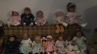 Collection dolls $60 each