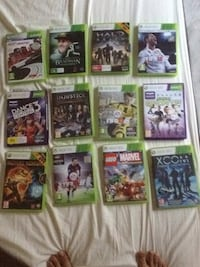nine assorted Xbox 360 game cases Bengaluru South, 560066
