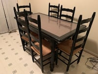 Table with 6 chairs  Ashburn
