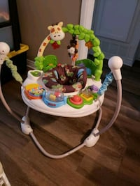 baby's white and green jumperoo Selma, 93662