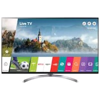 black LG flat screen TV 75 inch  Alexandria, 22305