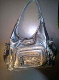 Sliver metallic brand new purse