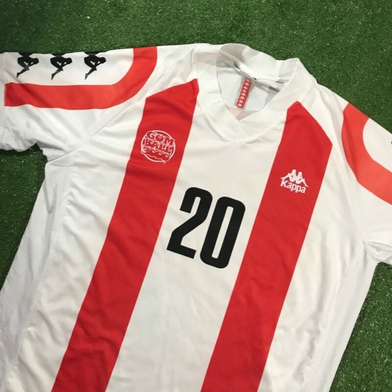 KAPPA X GUMBALL 3000 Limited Edition soccer jersey