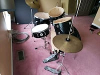 Dixon drum set Bear, 19701