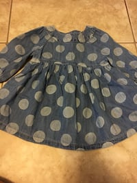 Gap Denim polka dot Dress size 12 months  Miramar, 33027