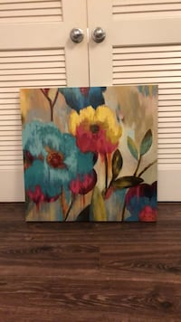 Multi colored floral painting  Alexandria, 22304