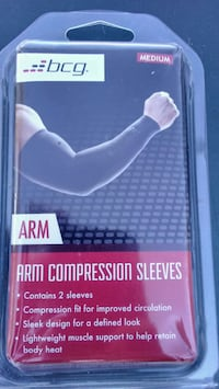 2 pk arm compression sleeves Hickory, 28601