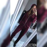 Ensemble velours bordeaux  Marcq-en-Baroeul, 59700
