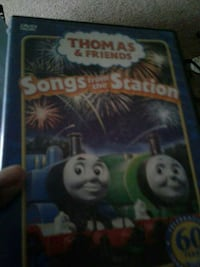 Thomas & Friends songs from the station DVD case