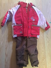 red and gray zip-up jacket Laval, H7P 1W4