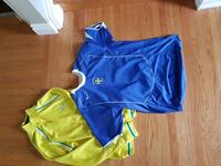 blue and green Nike jersey shirt and shorts Grimsby