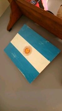 Reclaimed Wood Argentina Flag Whitby, L1R 1Z2