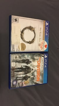 sony ps4 the elder scrolls and the division game Everett, 98201
