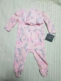 Laura Ashley pink and white floral sleeper Toronto, M6L 2C9
