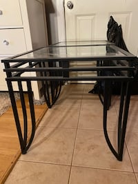 2 glass tables Port Coquitlam, V3B 1C7