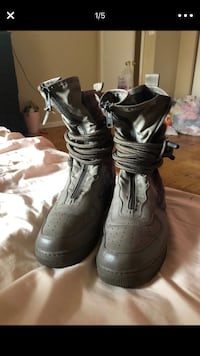 Size 11 Nike Air Force boots  Temple Hills, 20748