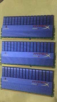 Kingston Hyperx 6Gb Ddr3 1600Mhz Cl9 T1 Ram Per.Belleği Kit (2x2x2) Üsküdar