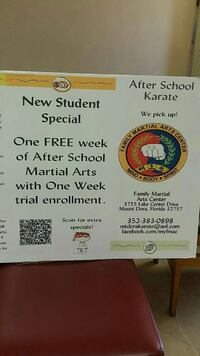 Martial Arts Lessons Eustis, 32726