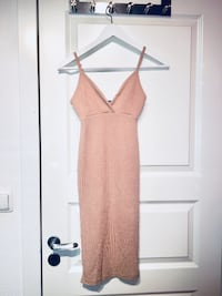 Nude bodycon dress Oslo, 1069