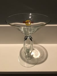 3 martini glasses . 1 from Vegas and 2 from Mexico Nanaimo, V9T 2N6