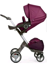 baby's purple and black stroller Sunland, 91040