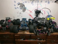 RC cars gas metro got them from me storage bin as is