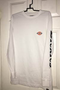 Dickies White Long Sleeve
