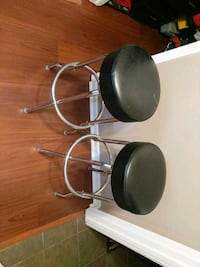 black and silver bar stools $10 each Minneapolis, 55401