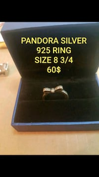 GORGEOUS PANDORA SOLID STERLING SILVER RING  Montréal, H1S 1N8